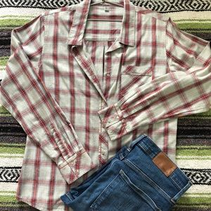 HoRnY ToAd/ToAd & Co. plaid cotton shirt